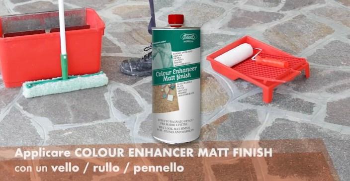 colour enhancer matt finish faber