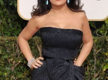 Salma Hayek at the 70th Annual Golden Globe Awards in ...