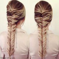 Hair: How to do fishtail braid hairstyle? - Fab Fashion Fix