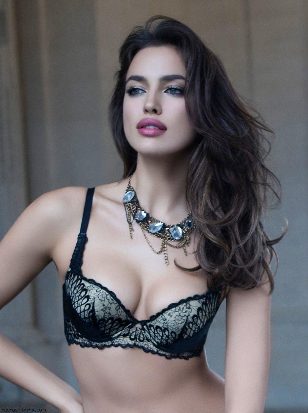 Irina Shayk For La Clover Lingerie Fall 2013 Fab Fashion Fix
