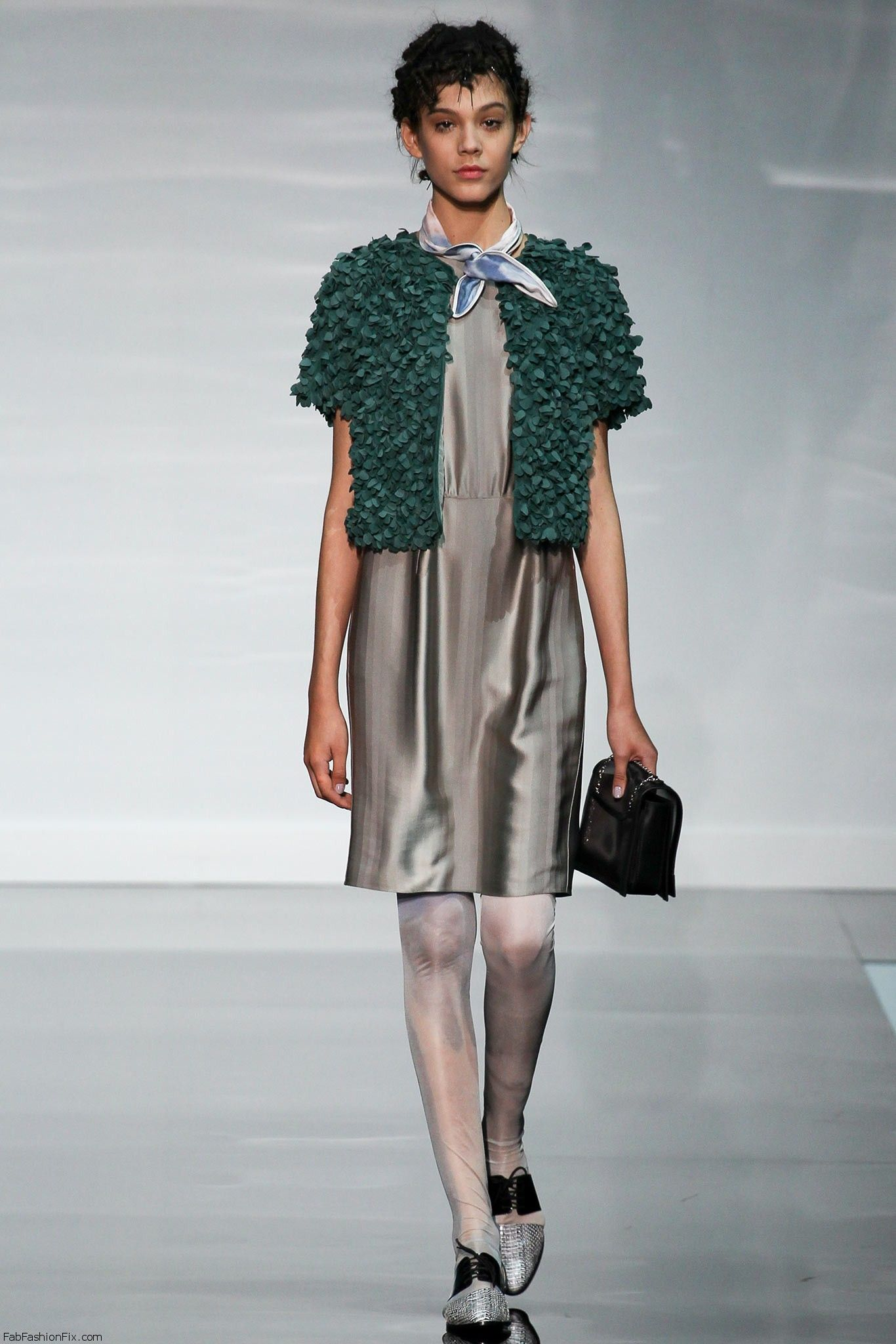 Emporio Armani springsummer 2014  Milan fashion week  Fab Fashion Fix