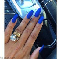 Blue nails & nail art inspirations - Fab Fashion Fix