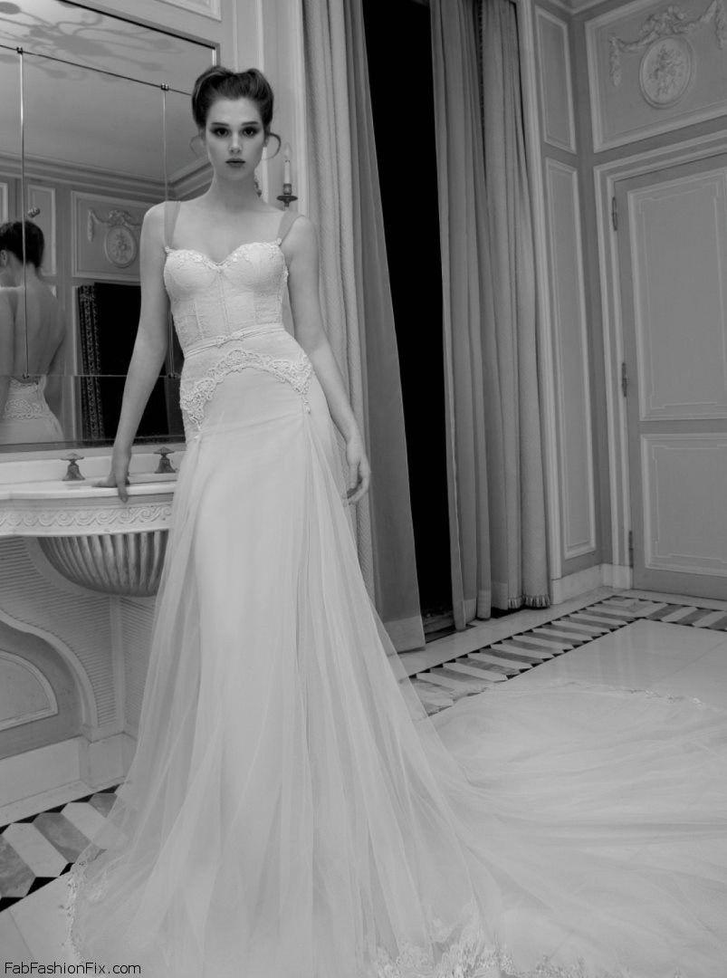Inbal Dror 2013 Bridal Collection  Fab Fashion Fix