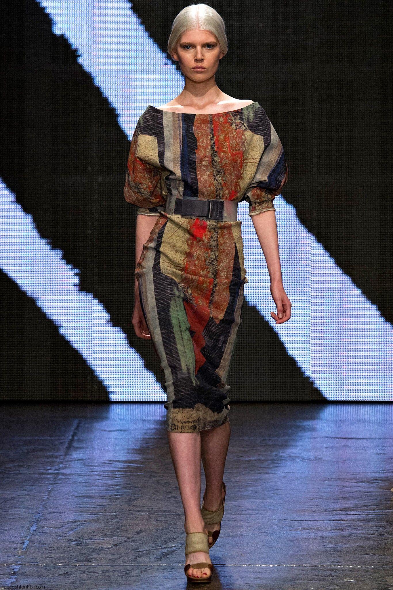 Donna Karan springsummer 2015 collection  New York fashion week  Fab Fashion Fix