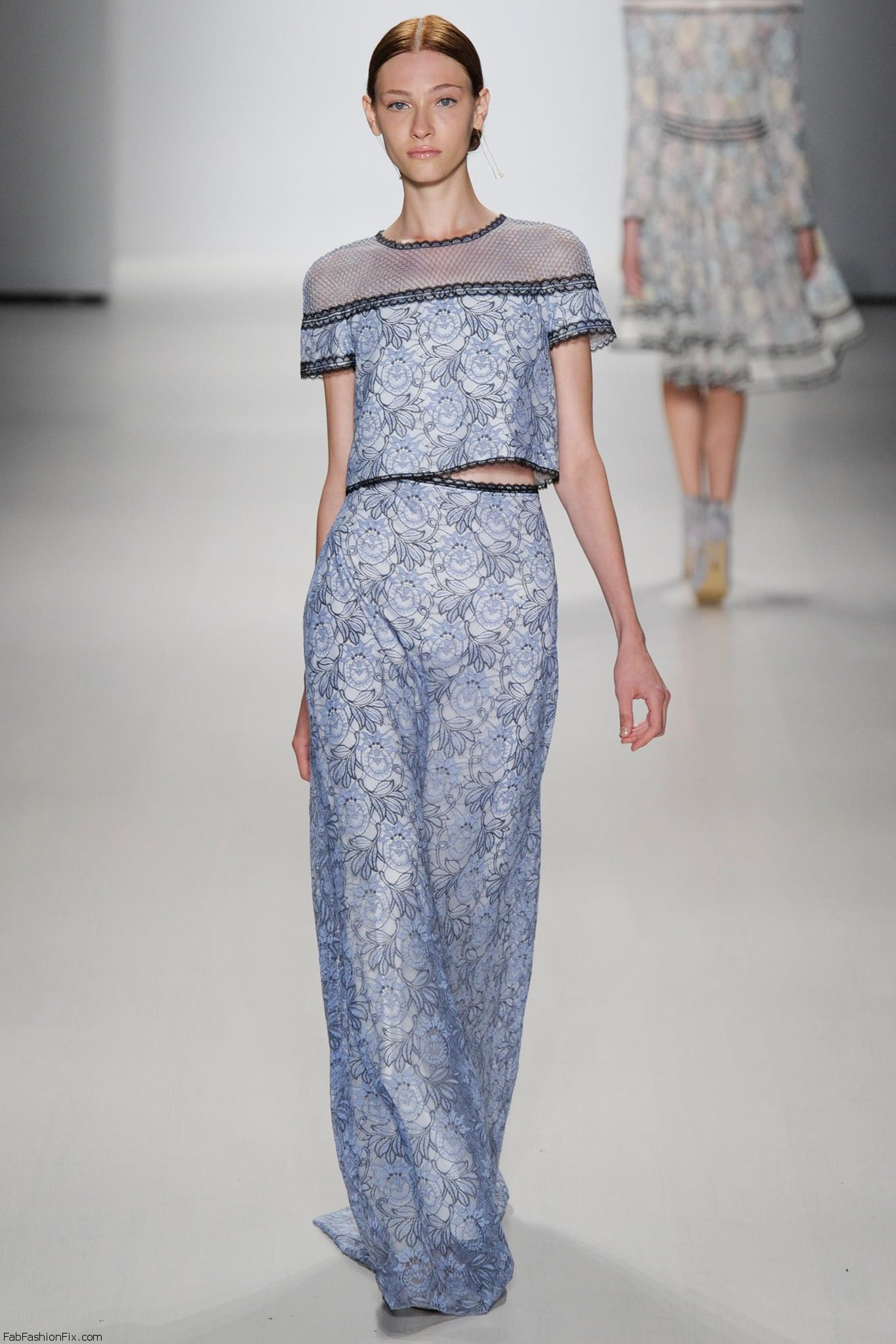 Tadashi Shoji springsummer 2015 collection  New York fashion week  Fab Fashion Fix