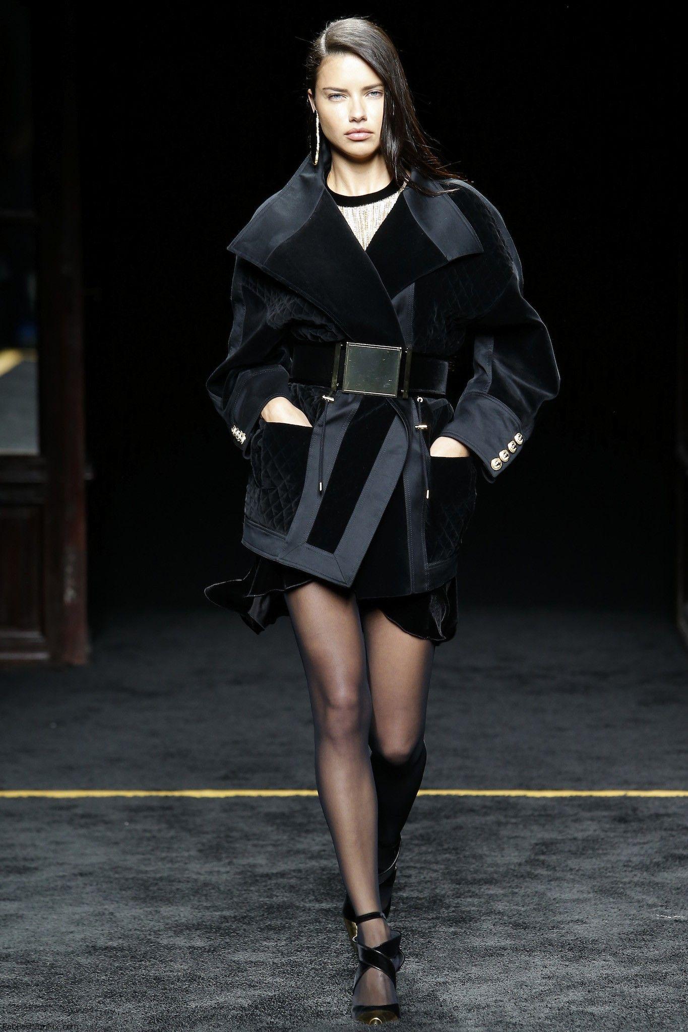 Balmain Fallwinter 2015 Collection Paris Fashion Week