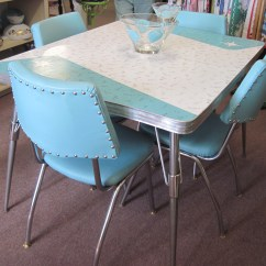 Vintage Kitchen Table Backyard Design Retro Formica And Chairs Fabfindsblog