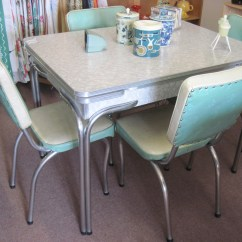 Vintage Table And Chairs Chair Rentals Charlotte Nc Formica Fabfindsblog