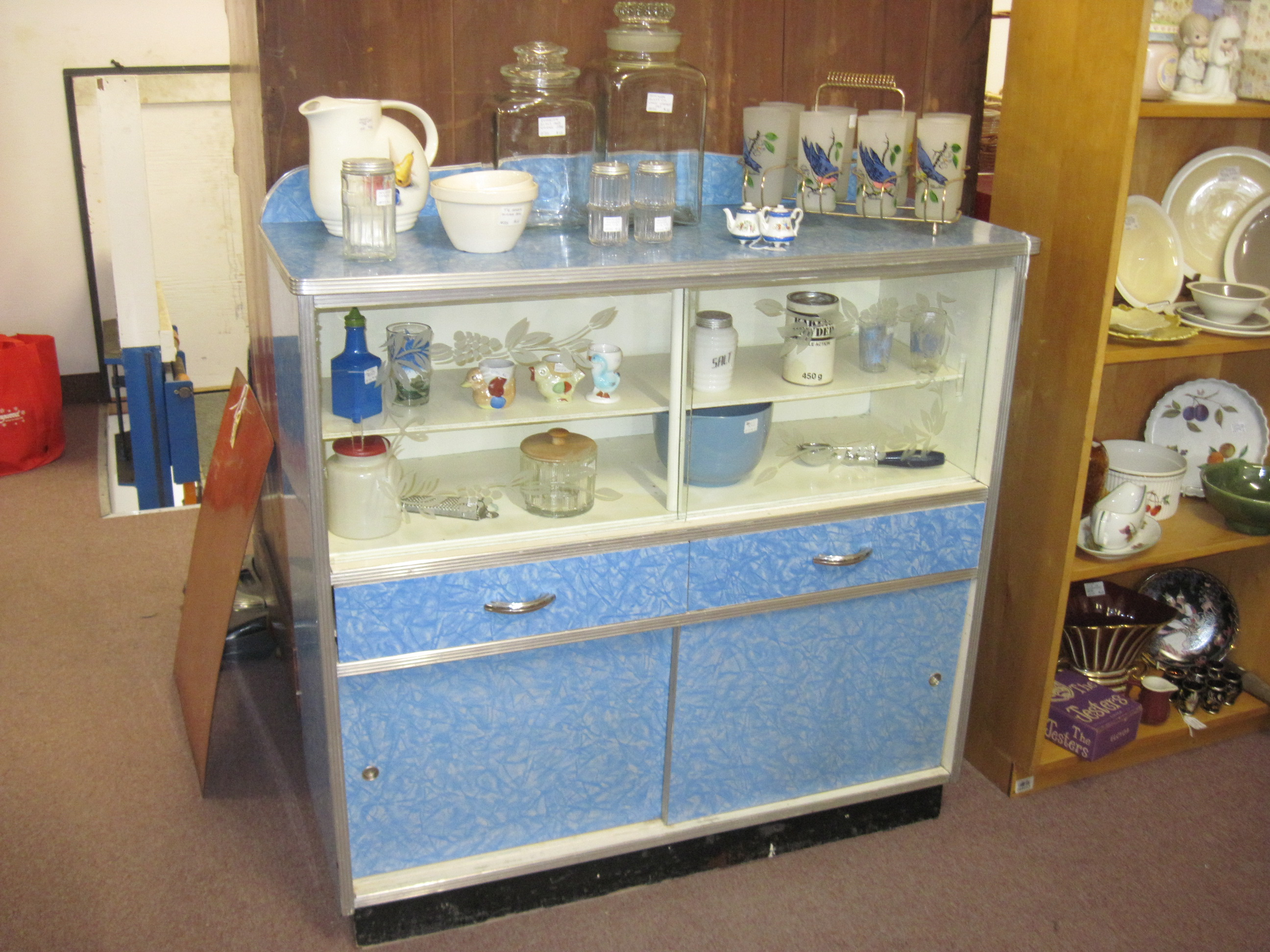 kitchen cabinet buffet lights retro dining sets | fabfindsblog