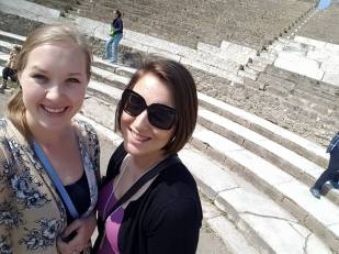Amazing times in Pompei with my other bestie