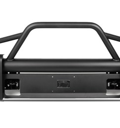 black steel elite front bumper ford superduty [ 1920 x 1080 Pixel ]