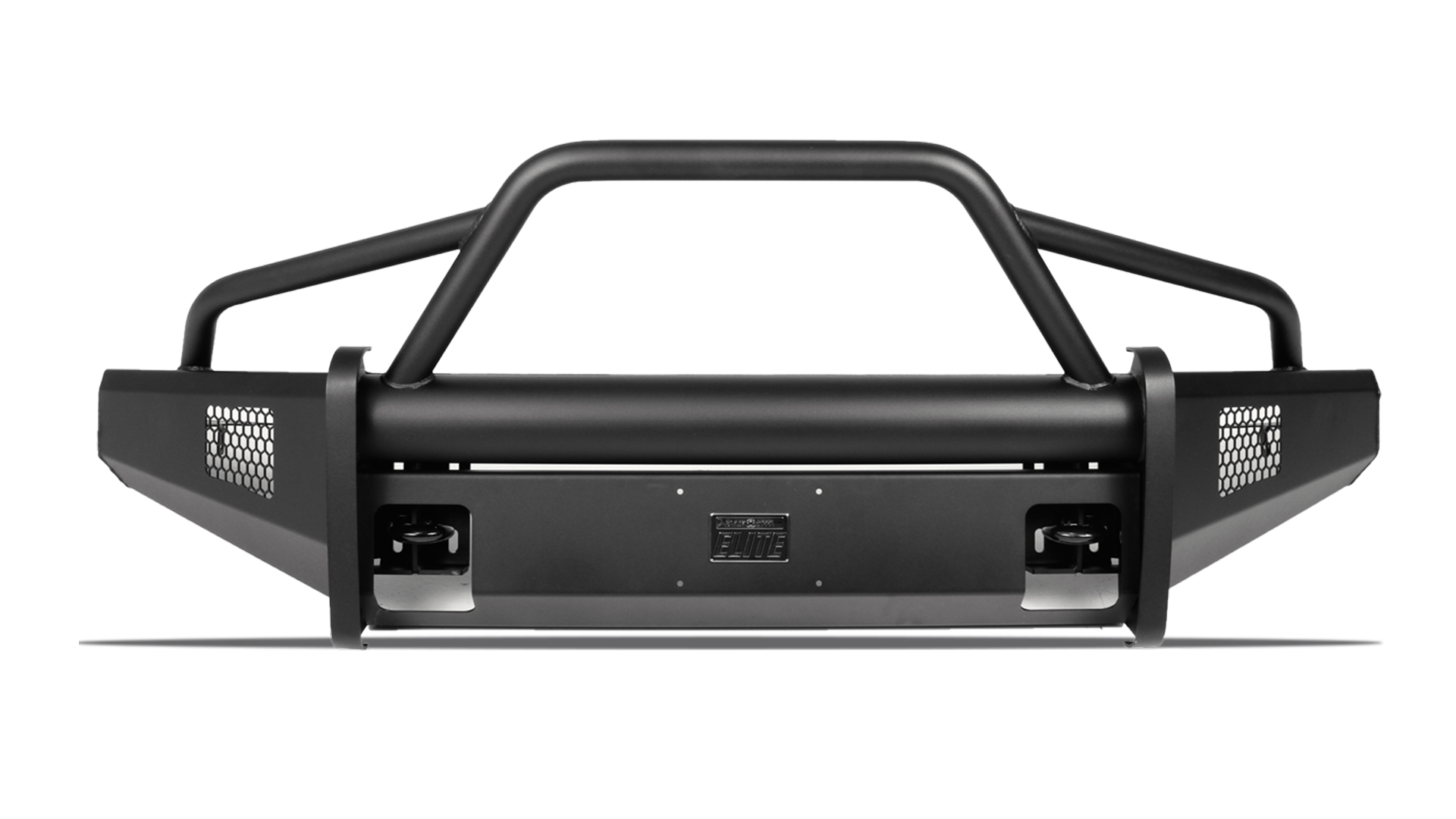 hight resolution of black steel elite front bumper ford superduty
