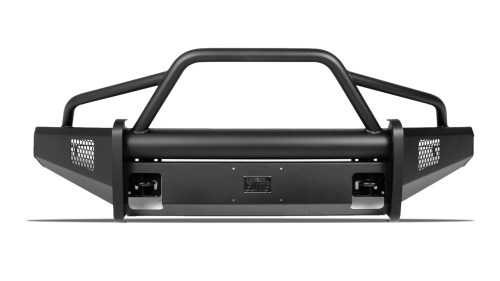 small resolution of black steel elite front bumper ford superduty