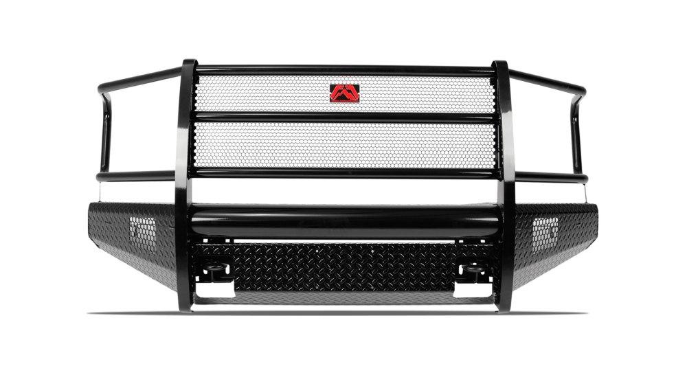 medium resolution of black steel front bumper ford superduty