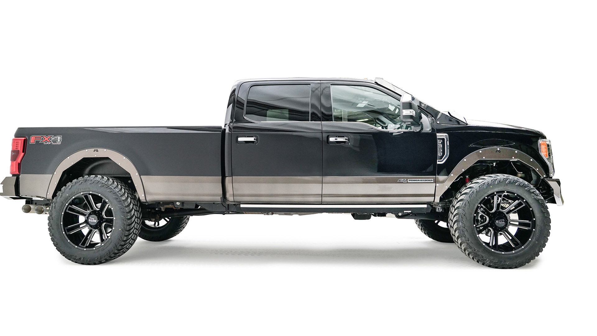hight resolution of ford superduty open fender system