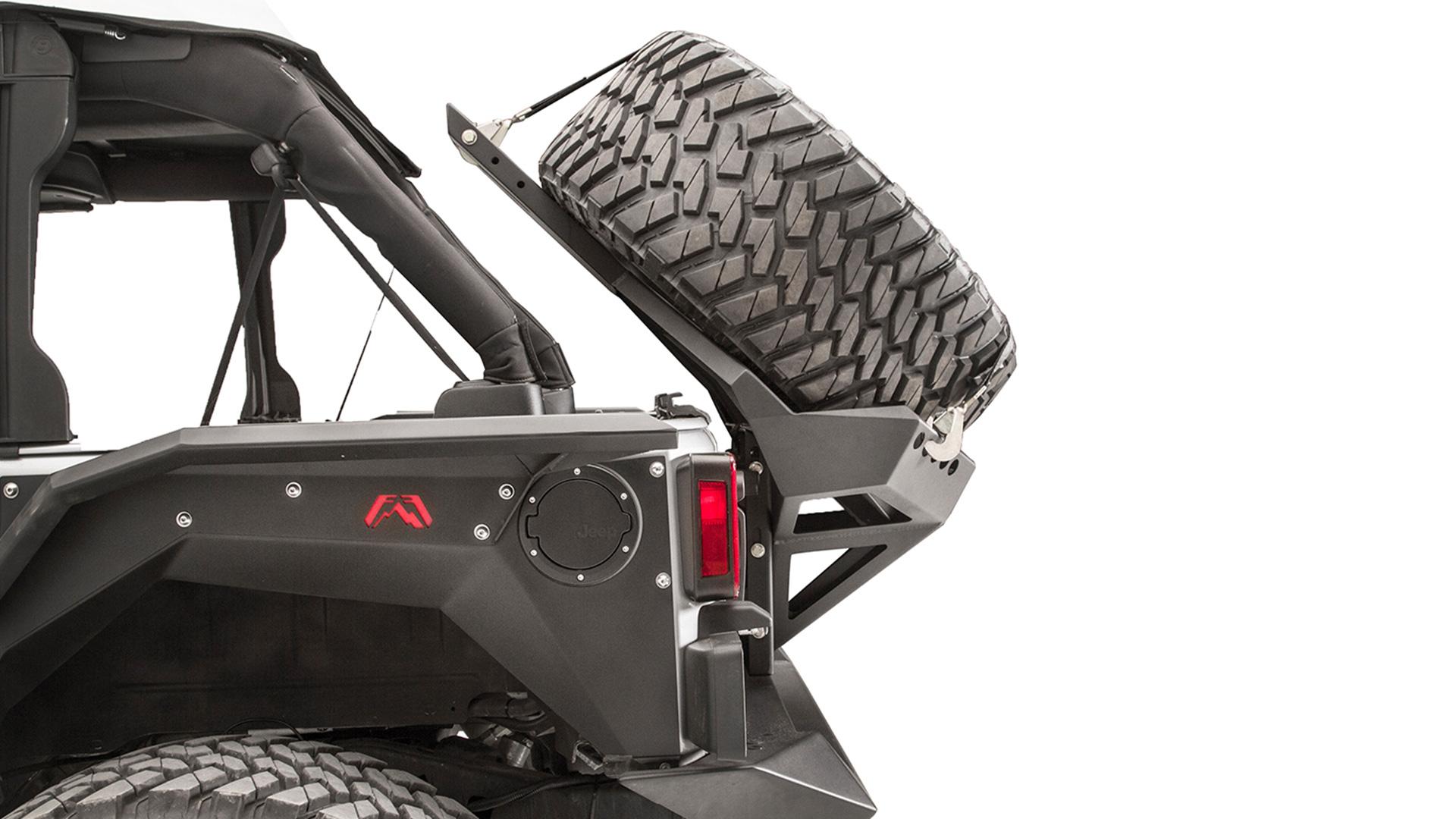 hight resolution of slant back tire carrier jeep jk