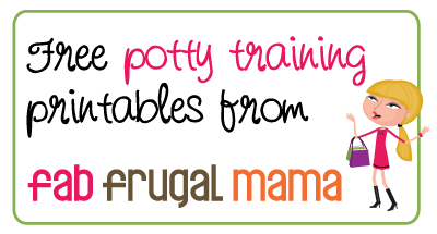 Adventures in Potty Training {+ Free Printables!}