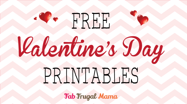 hero image Valentine printables | Fab Frugal Mama-01