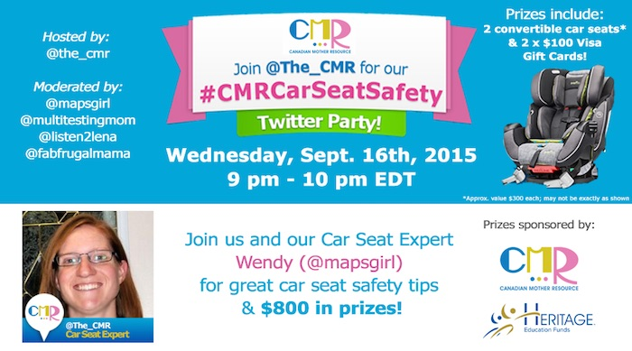 Child Passenger Safety Twitter Party