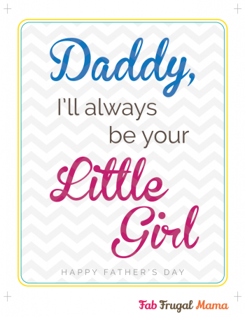 Fab Frugal Mama Father's Day printable v4-girl
