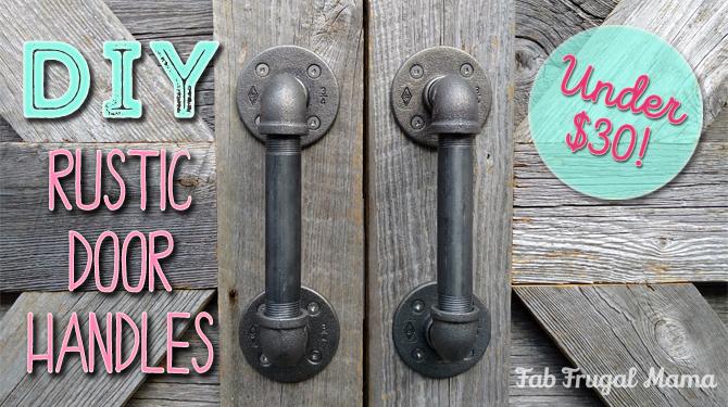 DIY Door Handles (Under $30!)