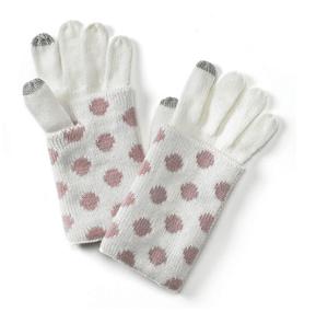 Polka Dot Touch Gloves