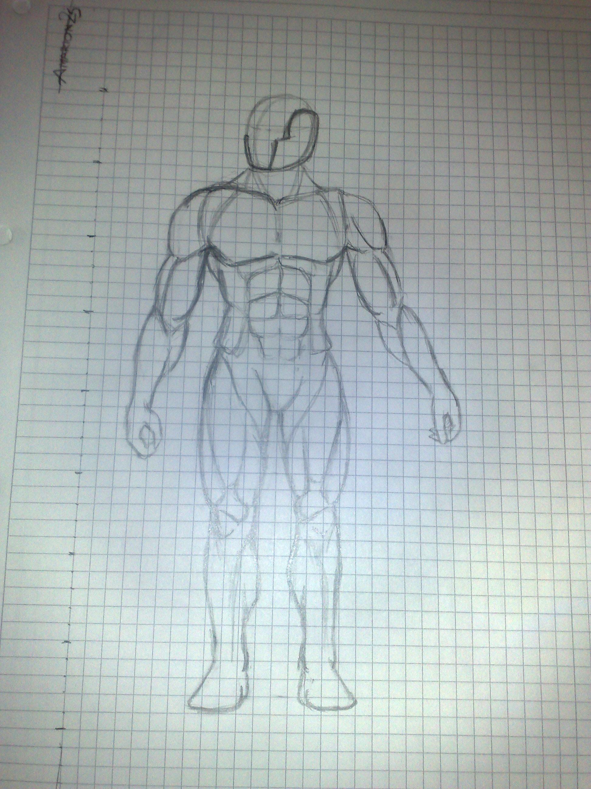 cuerpo soldado base musculos