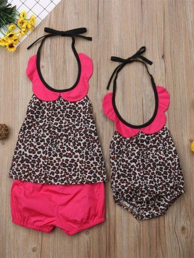 Fabhooks Sister Match Pink Dress