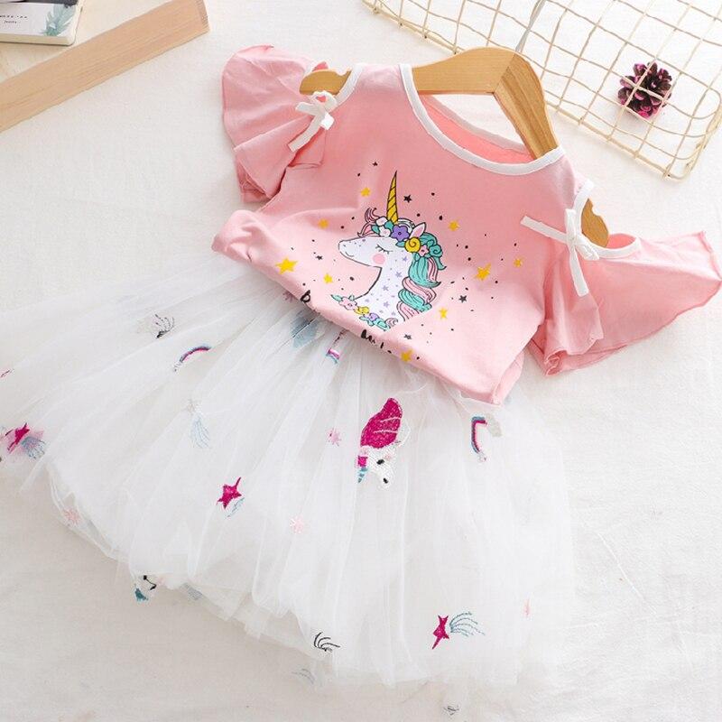 White Unicorn Tutu Dress