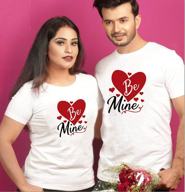 Be Mine Lovers T Shirt Valentine Special