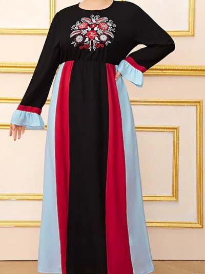 Mom n Me Ethnic Abaya Maxi Dress for Occasion