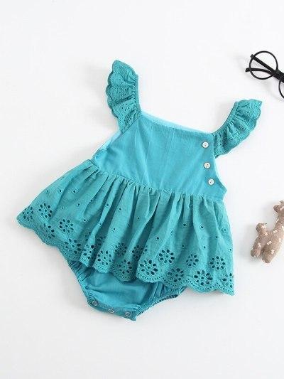 Girl Twins Sleeveless 1st Birthday Dress