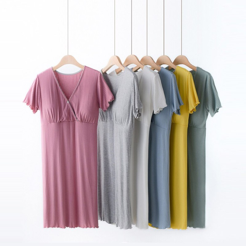 Night Gown for Breast Feeding Mothers & Pregnant Lady