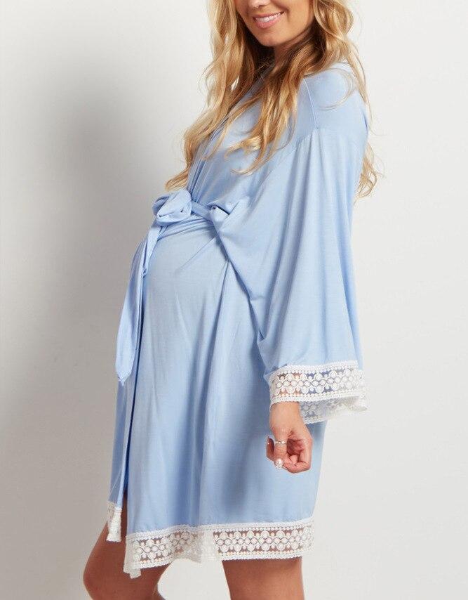 Pregnant Women Lounge Breastfeeding Maternity Robe