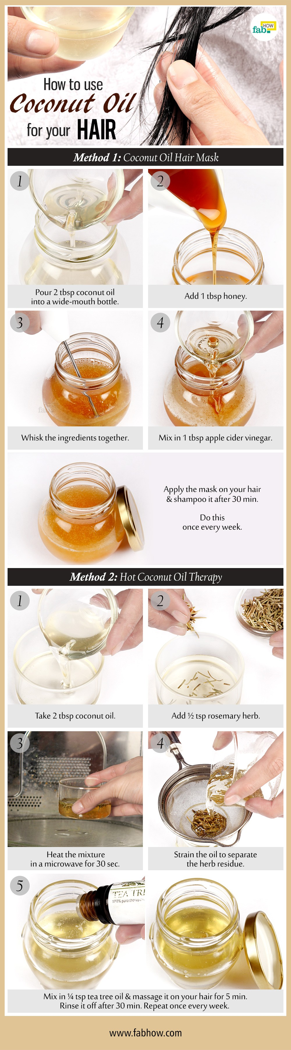 How To Use Coconut Oil For Your Hair  Fab How