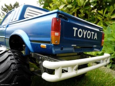 Tamiya Bruiser blue