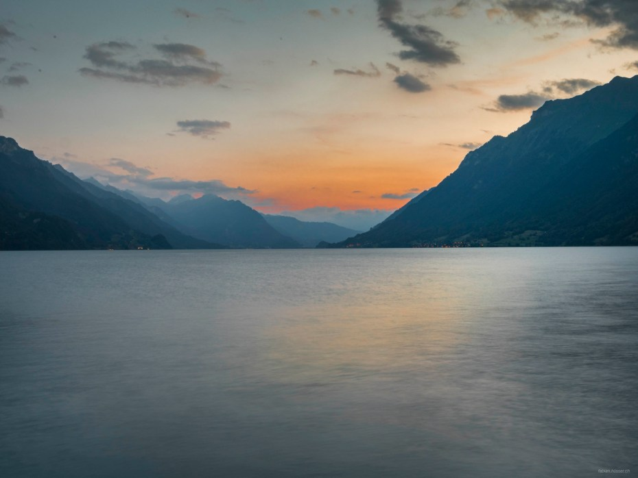 Sunset Brienz