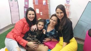 Fabiana Lazzari, Bárbara Dutra, Fabiana Franzosi e Vanessa Sandre