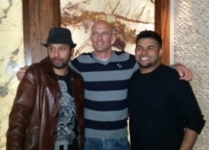 Shaqir Hussyin, Saj P and Fabian Anliker
