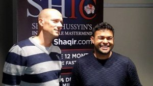 Shaqir Hussyin and Fabian Anliker