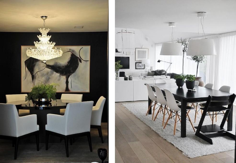Como Decorar Sua Casa Usando Preto E Branco