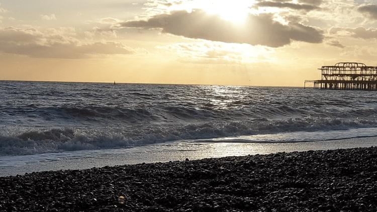 strand van Brighton
