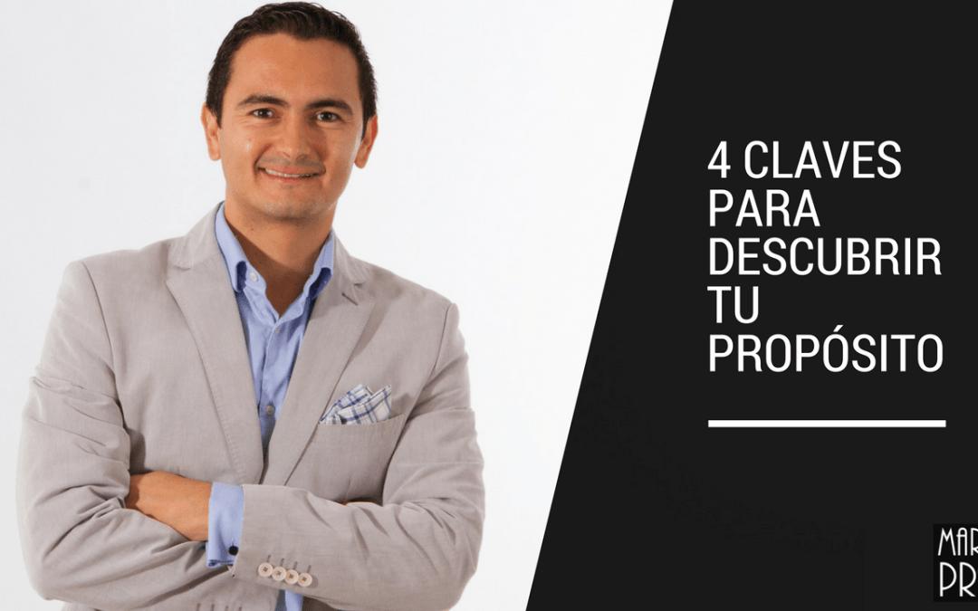 4 claves para descubrir tu propósito