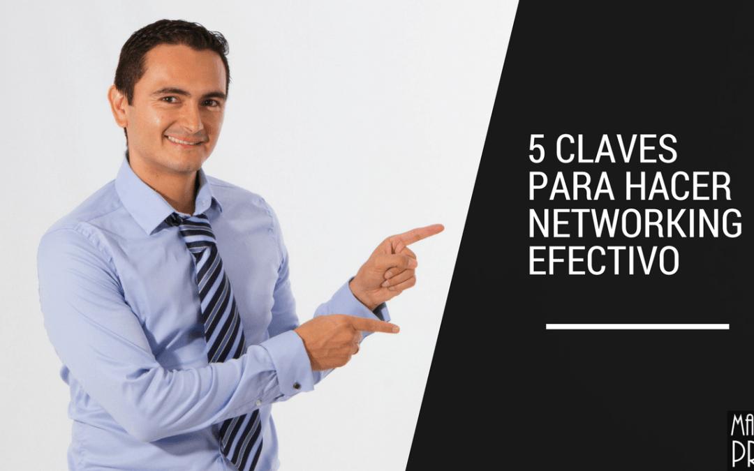 5 claves para hacer networking efectivo
