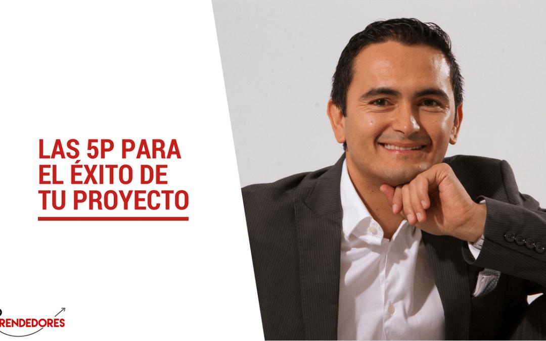 Las 5P para el éxito de tu proyecto emprendedor