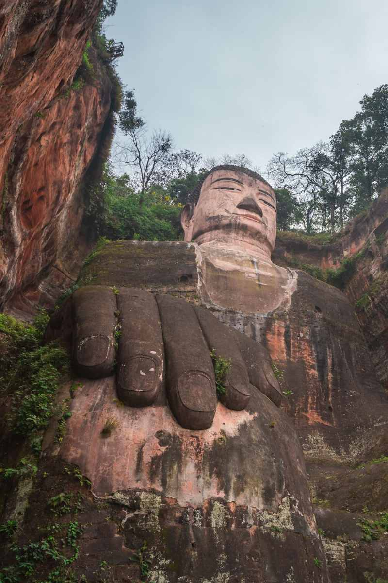 Giant Buddha Leshan China