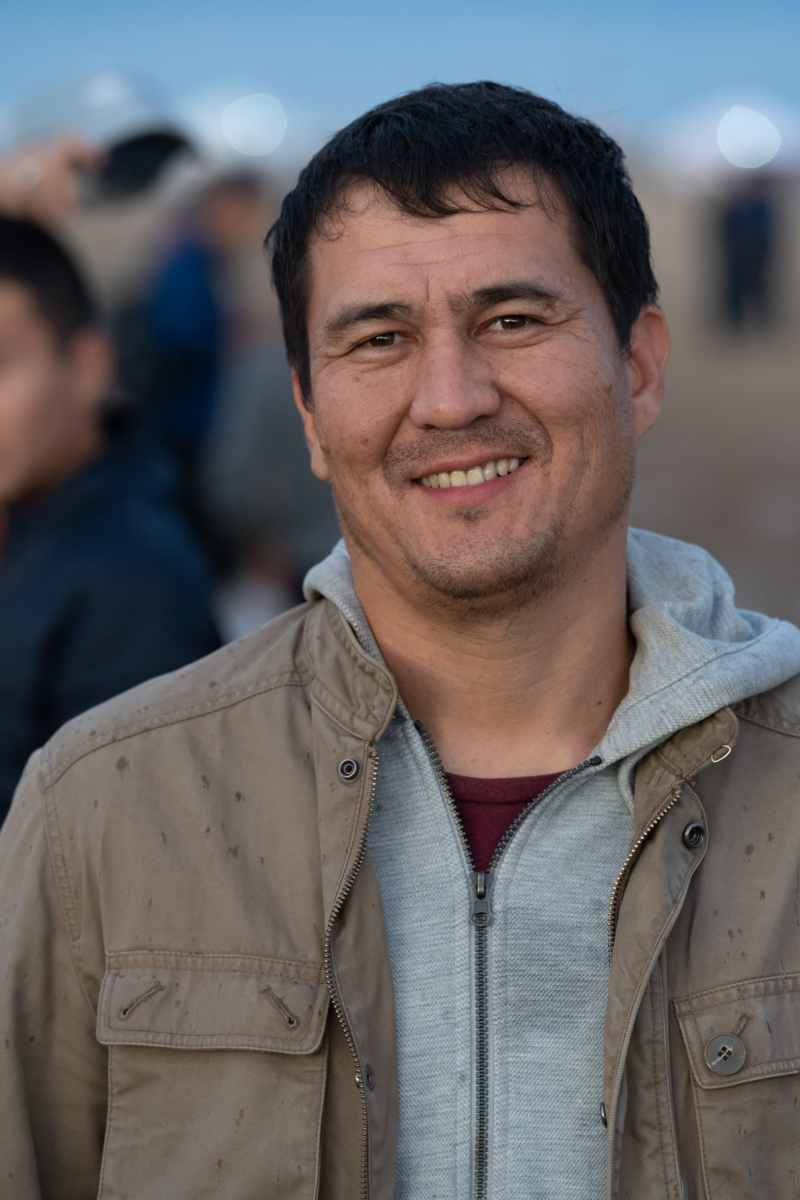Kazakh man portrait