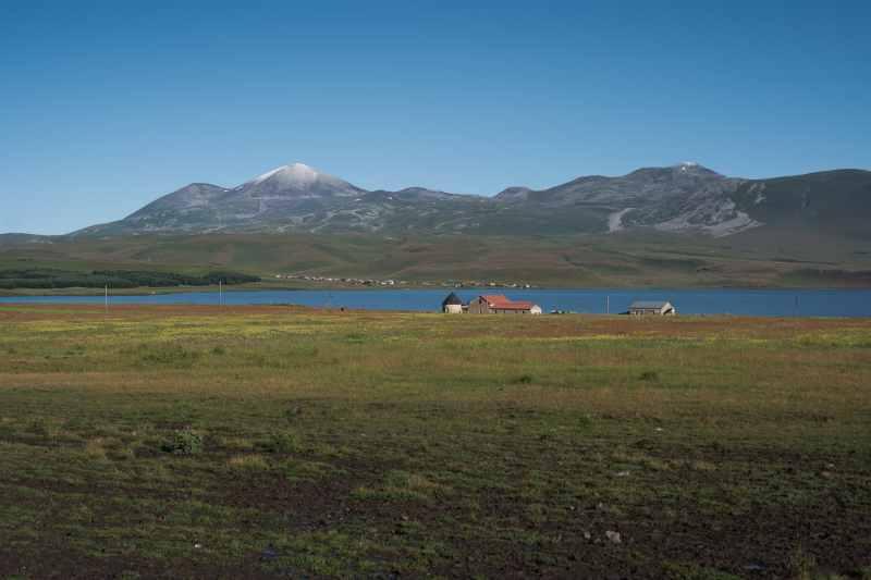 Paravani lake Georgia
