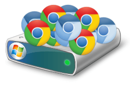 Chrome / Chromium et l'espace disque