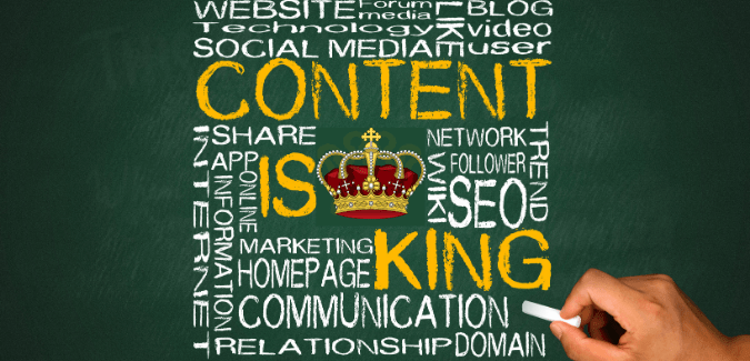 content is king when it comes to seo content writing strategy